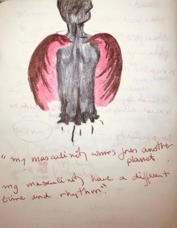 macho con alas